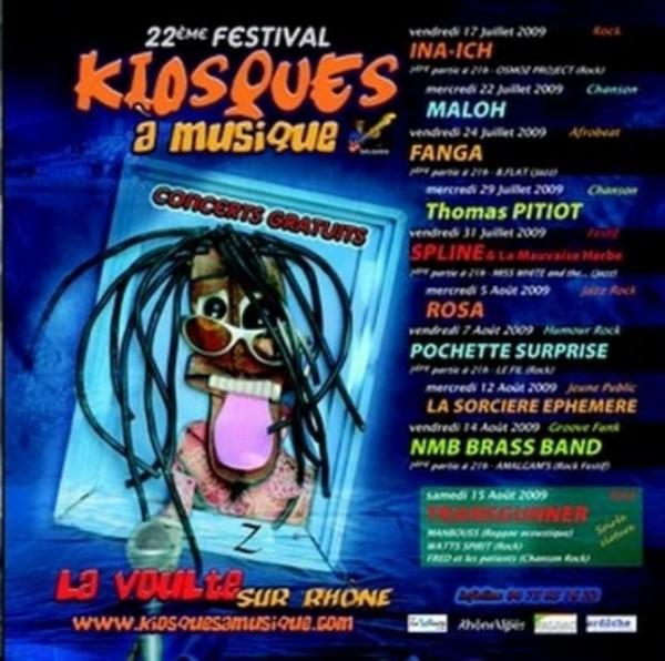 Kiosques à musique 2009