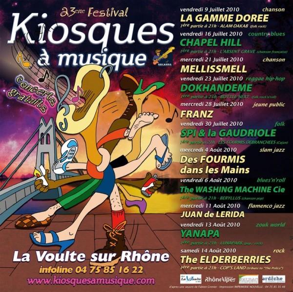 Kiosques à musique 2010