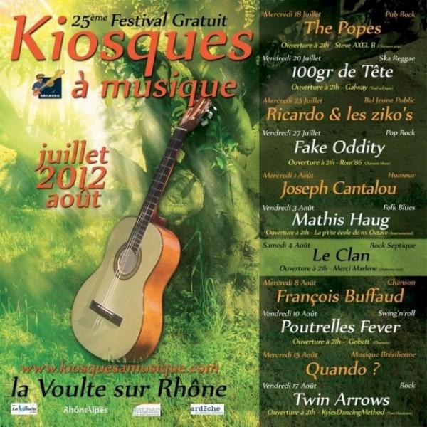 Kiosques à musique 2012